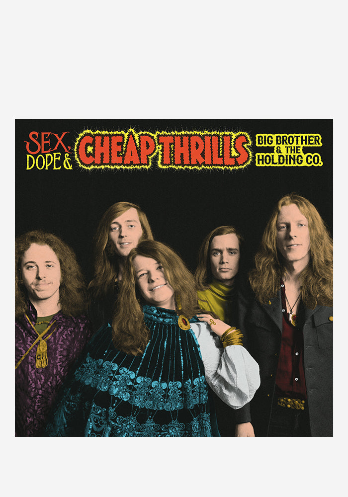 BIG BROTHER & THE HOLDING COMPANY Sex, Dope & Cheap Thrills 2LP