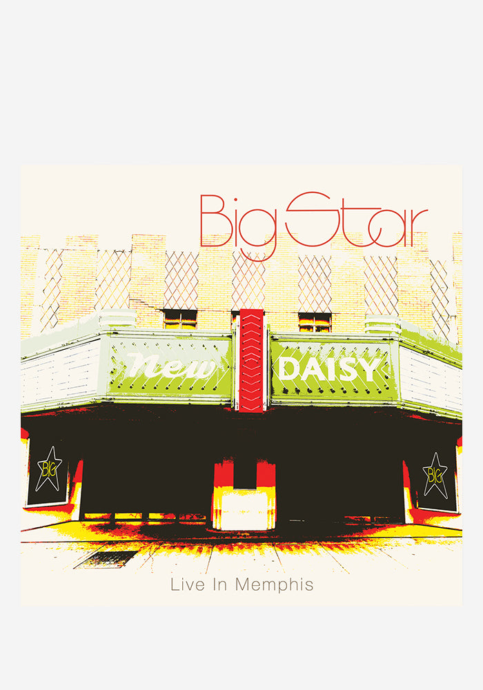 BIG STAR Big Star Live In Memphis 2LP (Color)