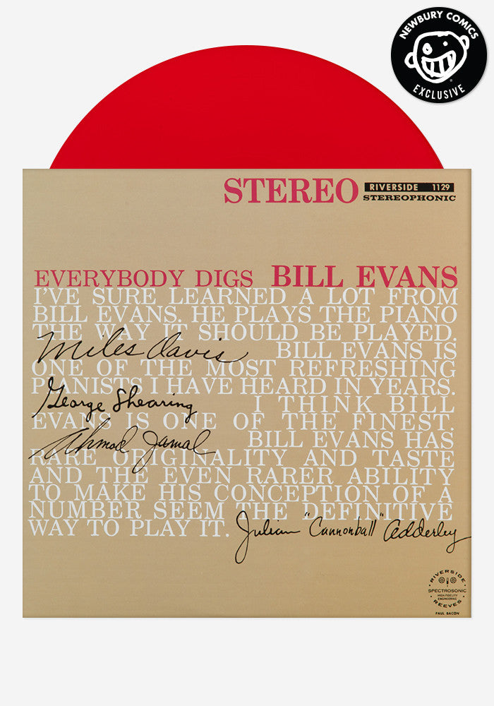 BILL EVANS Everybody Digs Bill Evans Exclusive LP