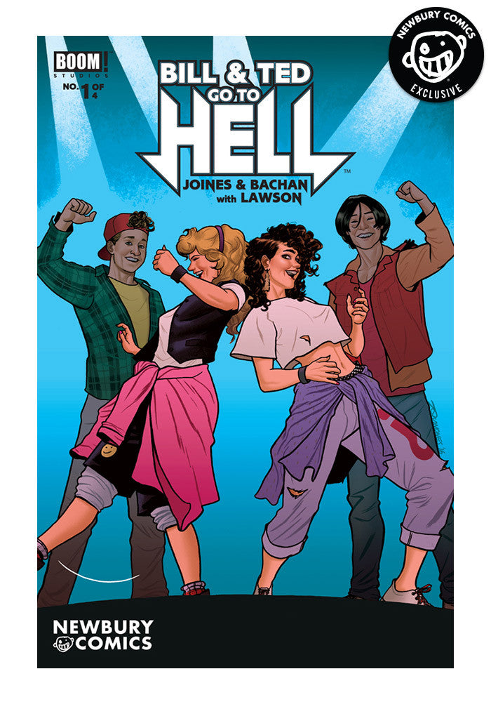 BOOM STUDIOS Bill & Ted Go To Hell #1 - Joe Quinones Variant Cover Comic