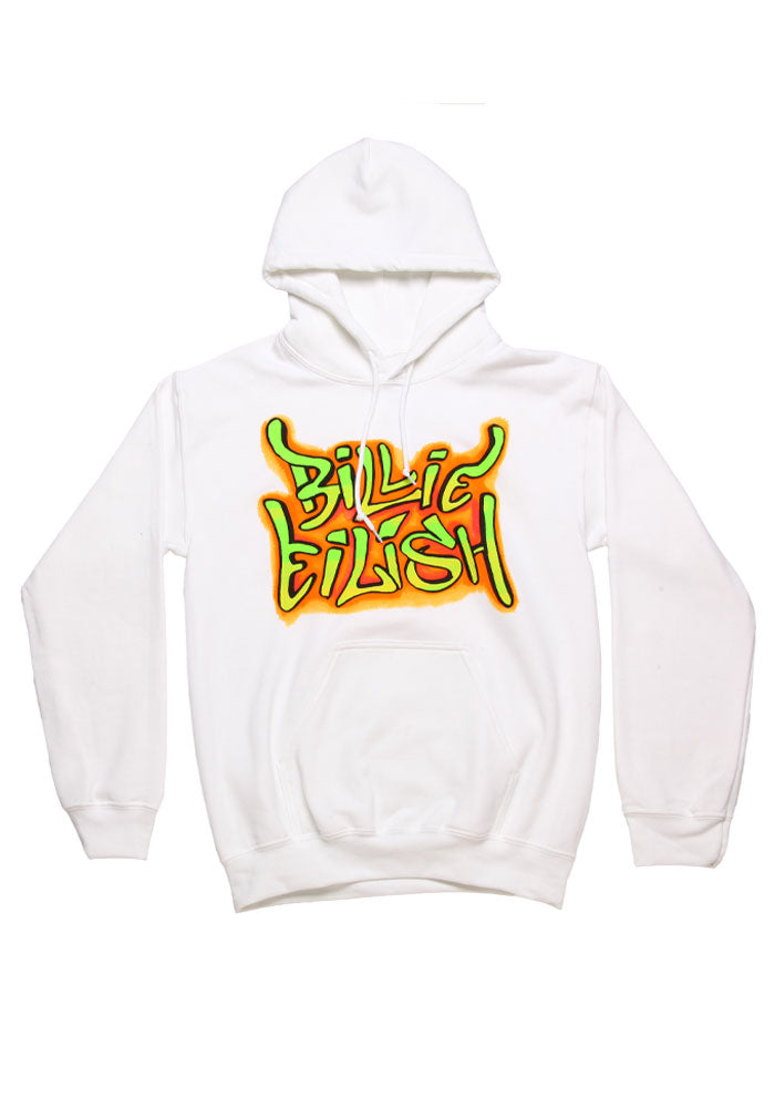 BILLIE EILISH Billie Eilish Graffiti Pullover Hoodie