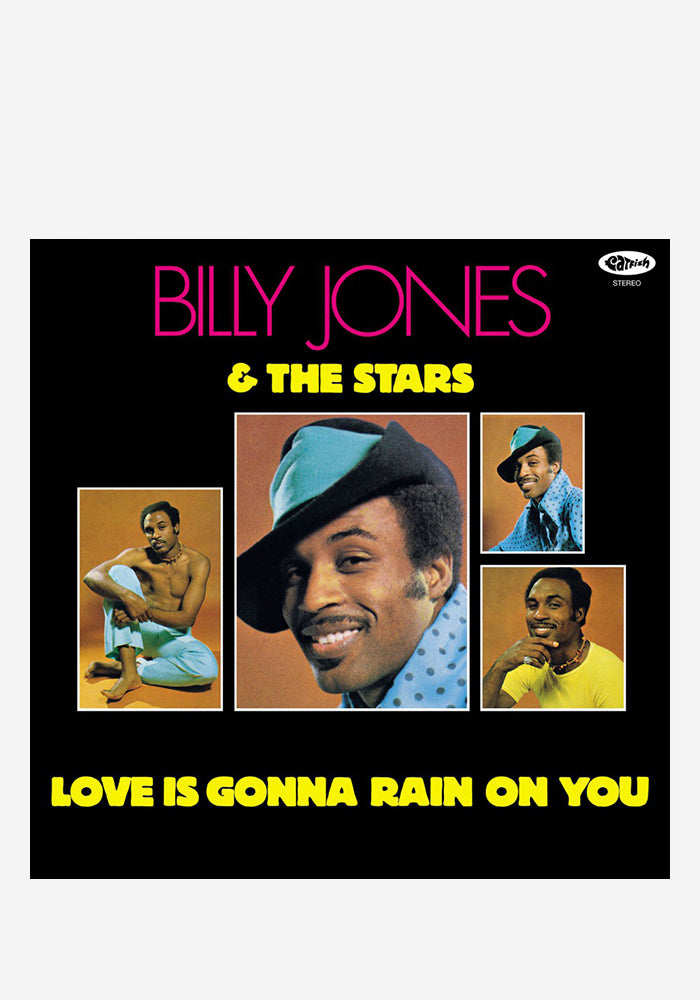 BILLY JONES & THE STARS Love Is Gonna Rain On You LP (Color)