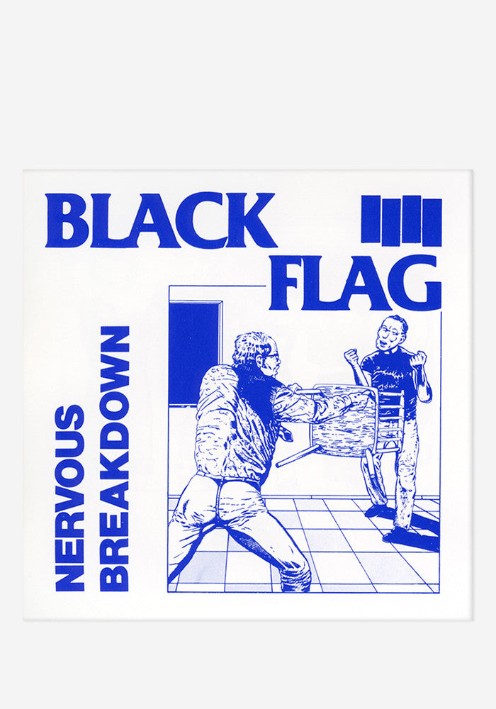 "BLACK FLAG Nervous Breakdown 7"" EP"