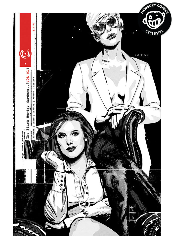 IMAGE COMICS Black Monday Murders Vol 1 Exclusive Variant Graphic Novel