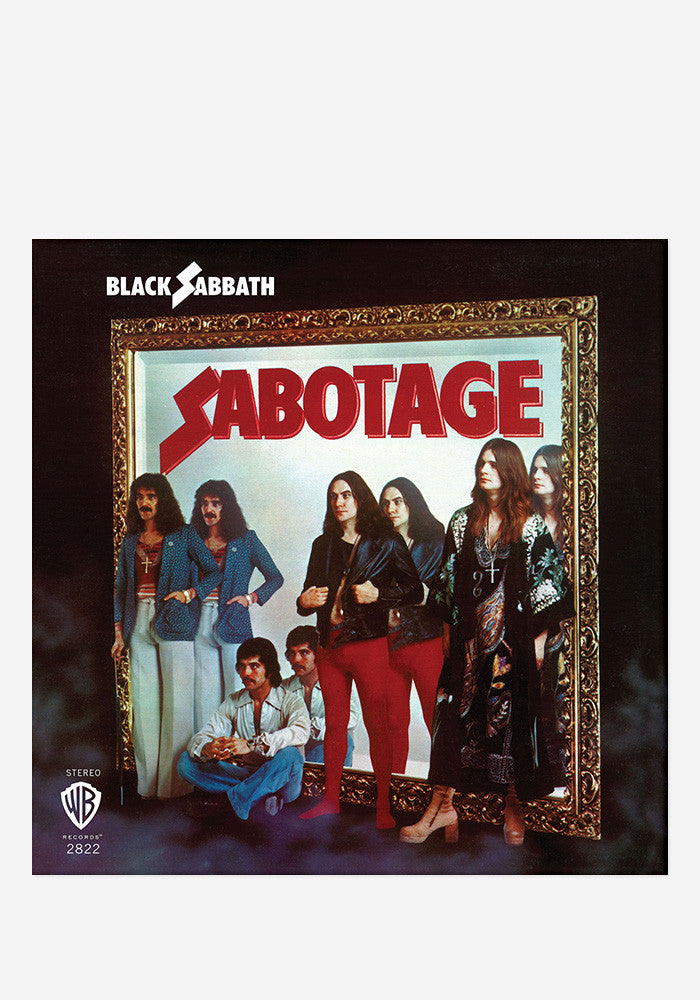 BLACK SABBATH Sabotage LP (Color)