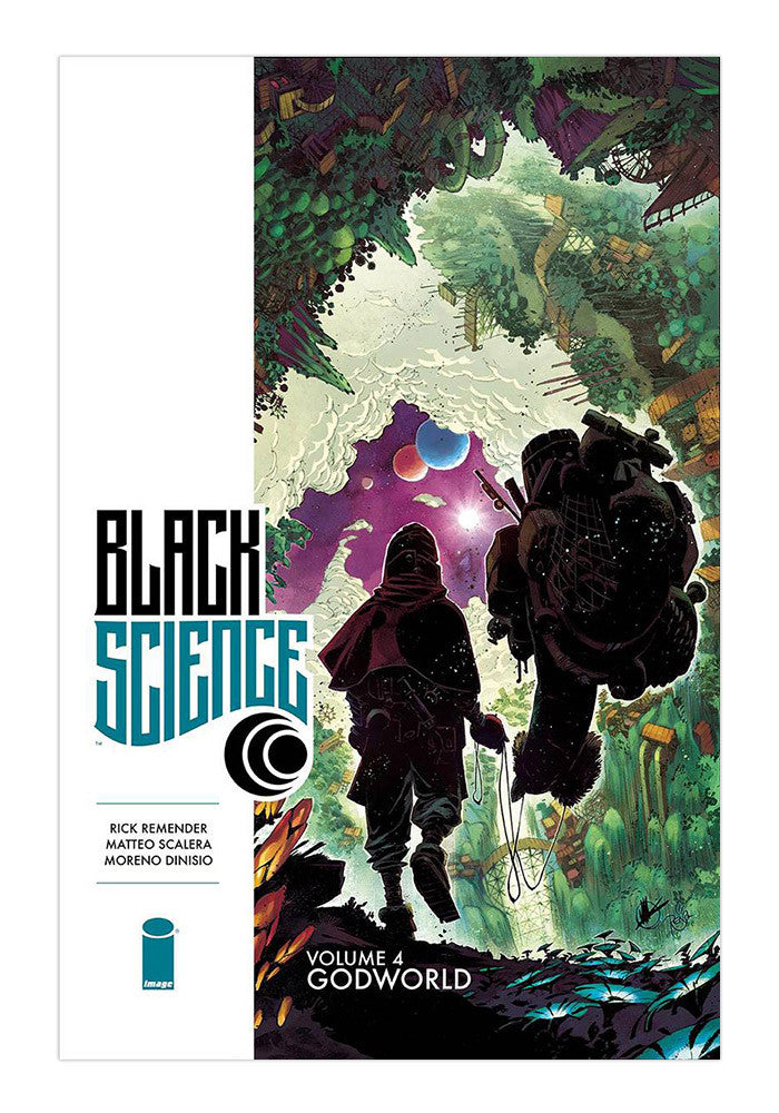 IMAGE COMICS Black Science Vol 4: Godworld Graphic Novel