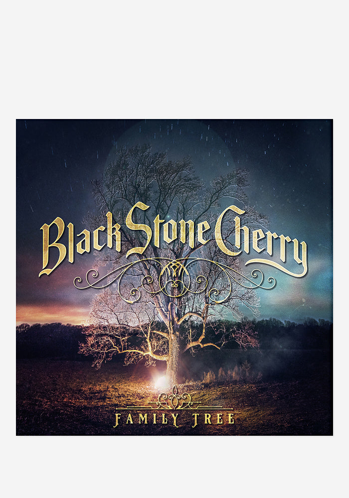 BLACK STONE CHERRY Family Tree With Autographed CD Booklet