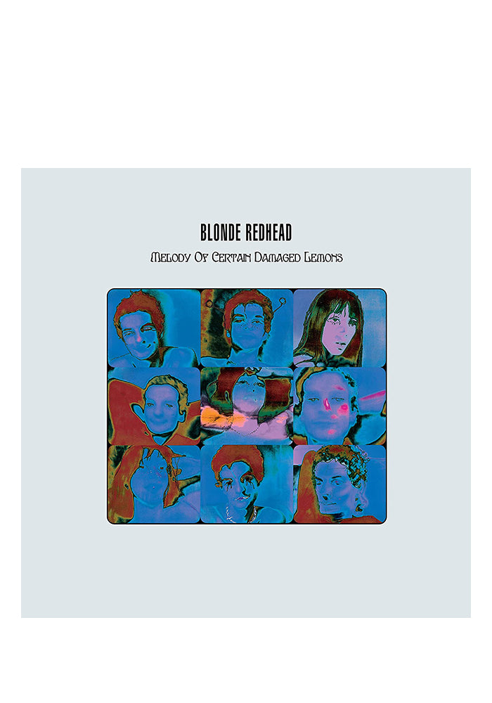 BLONDE REDHEAD Melody Of Certain Damaged Lemons 20th Anniversary LP (Color)