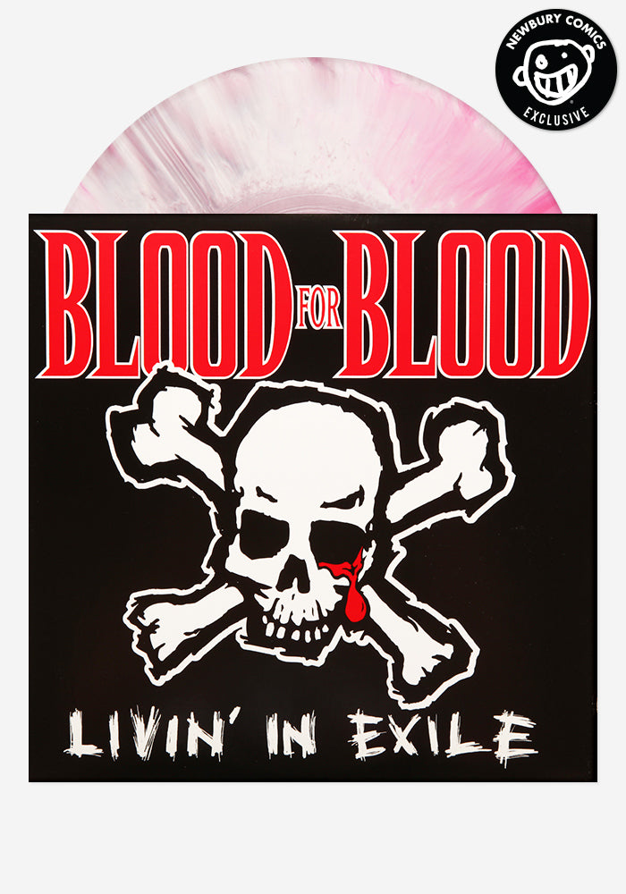 BLOOD FOR BLOOD Livin' In Exile Exclusive LP