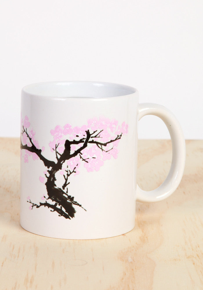 KIKKERLAND Blossoming Tree Heat Changing Morph Mug