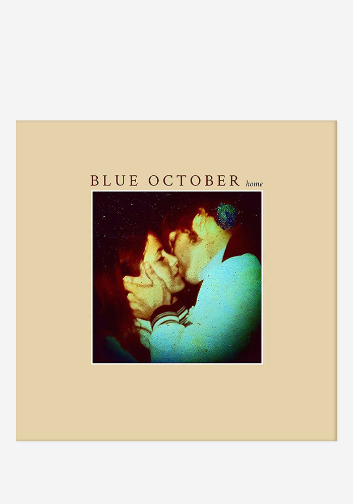 BLUE OCTOBER Home With Autographed CD Booklet