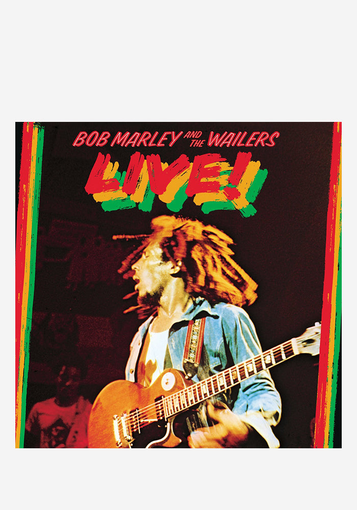 BOB MARLEY Bob Marley And The Wailers Live! LP