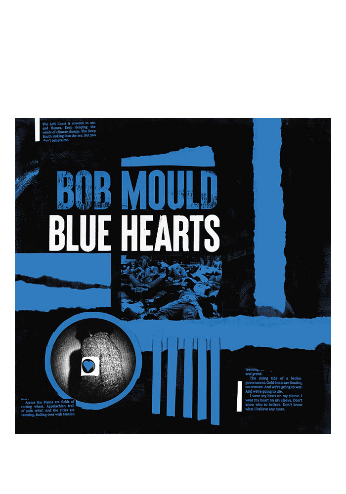 BOB MOULD Blue Hearts CD (Autographed)
