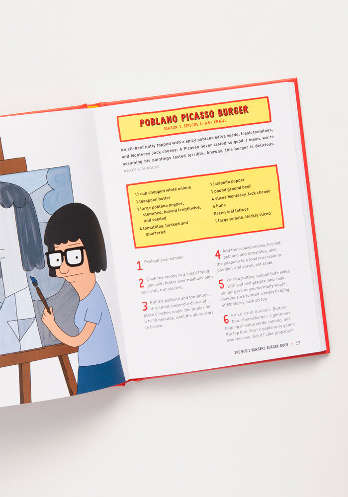 BOB'S BURGERS Bob's Burger Book: Real Recipes For Joke Burgers