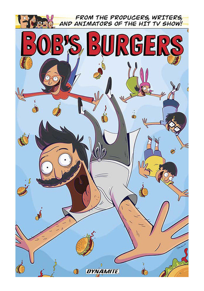 DYNAMITE COMICS Bob's Burgers Volume 1 by Chad Brewster & Various