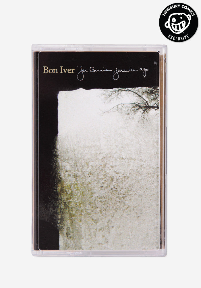 BON IVER For Emma, Forever Ago Exclusive Cassette