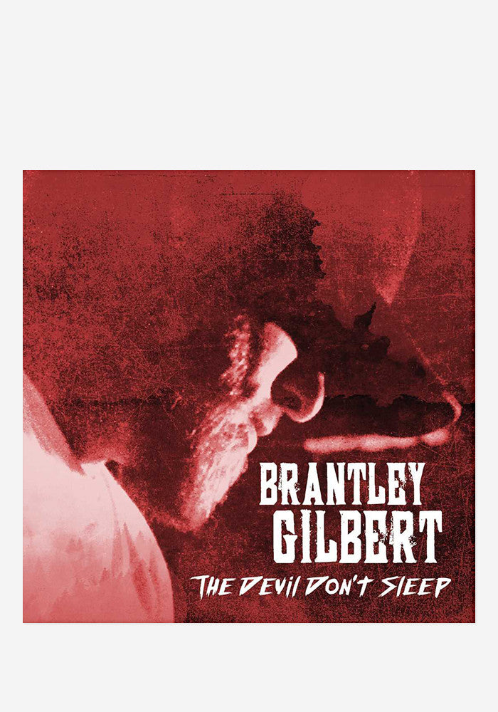 BRANTLEY GILBERT The Devil Don't Sleep With Autographed CD Booklet