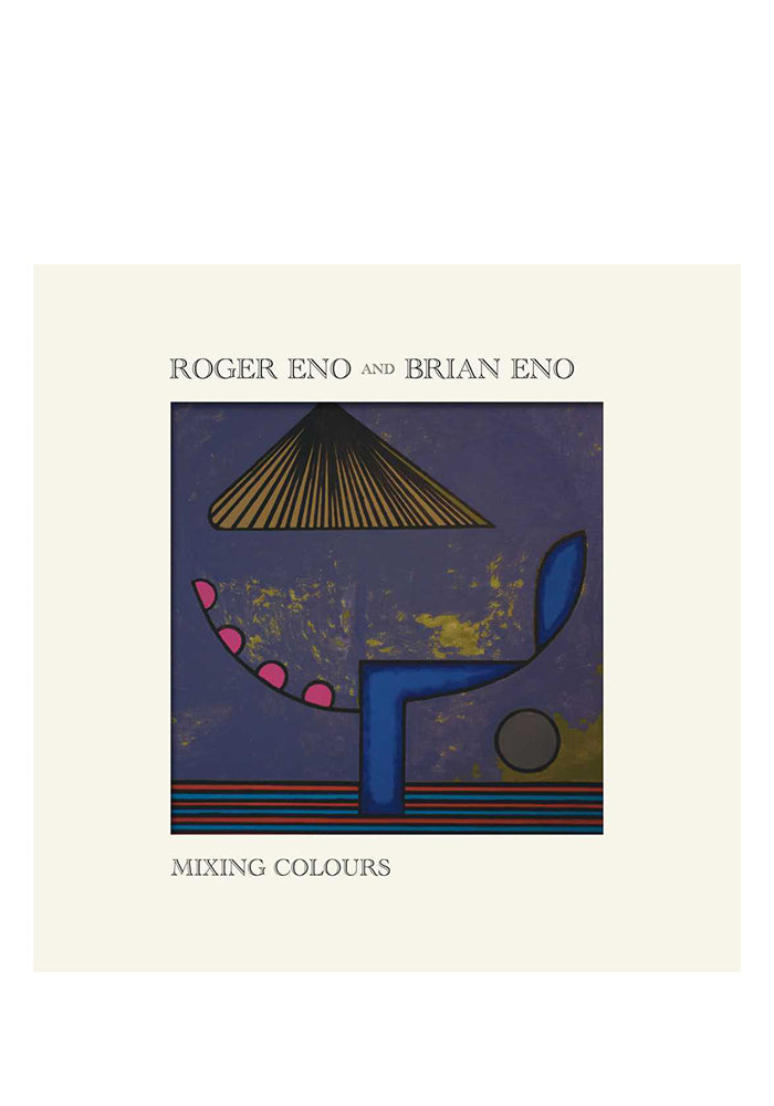 BRIAN ENO & ROGER ENO Mixing Colours CD