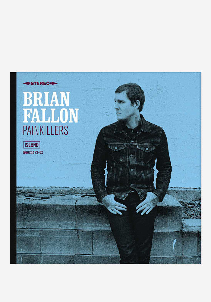 BRIAN FALLON Painkillers With Autographed CD Booklet