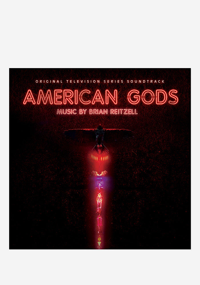 BRIAN REITZELL Soundtrack - American Gods With Autographed CD Booklet