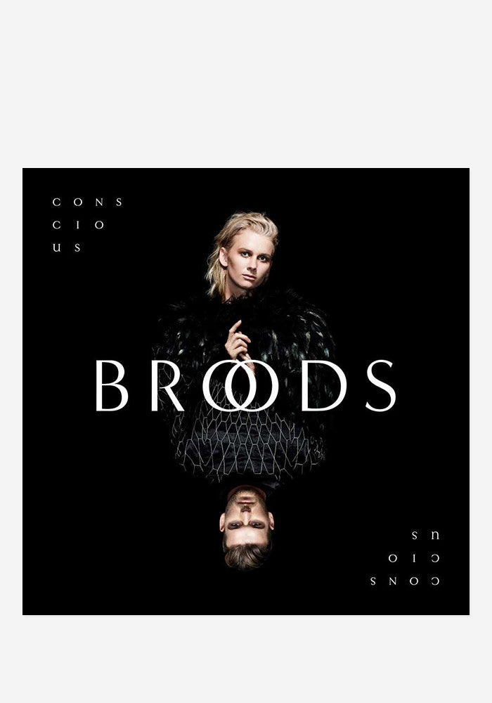 BROODS Conscious With Autographed CD Booklet