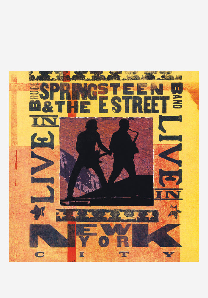 BRUCE SPRINGSTEEN Live In New York City 3LP