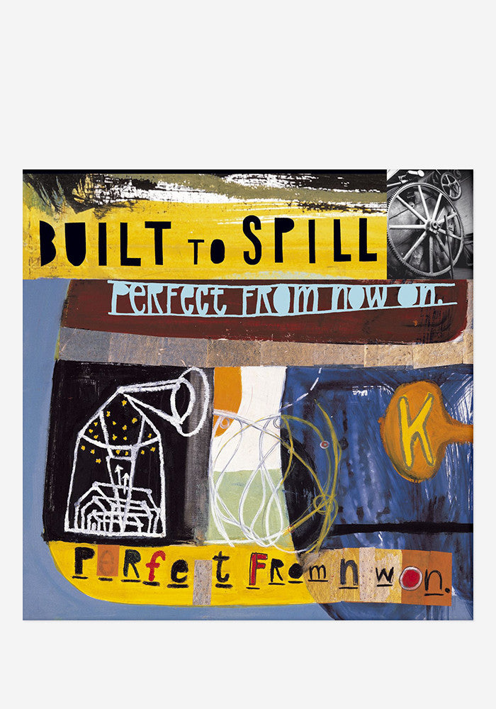 BUILT TO SPILL Perfect From Now On LP