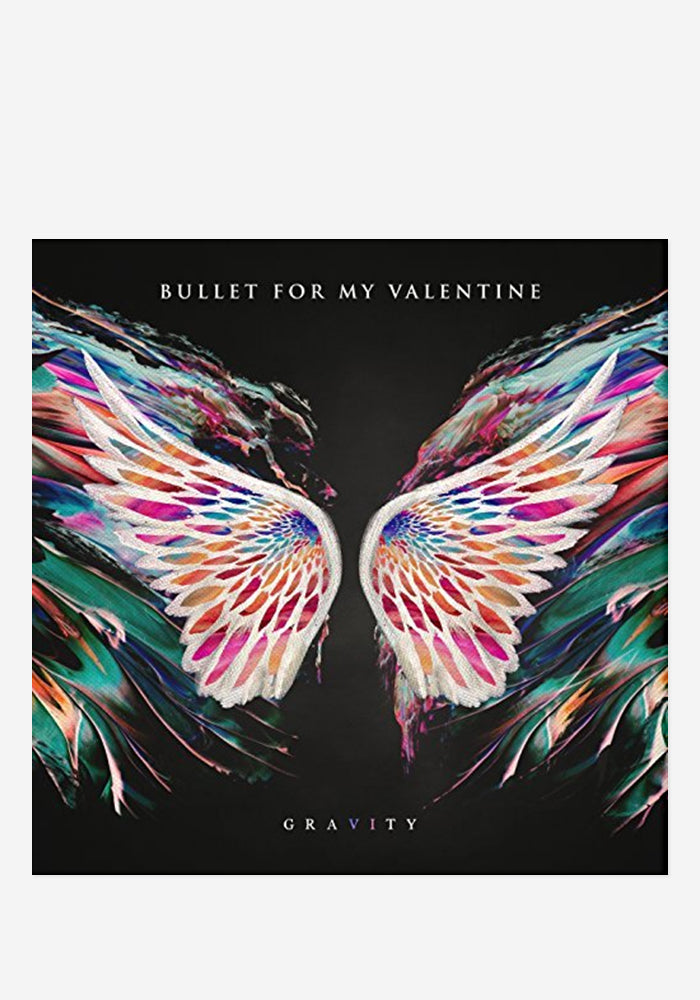 BULLET FOR MY VALENTINE Gravity With Autographed CD Booklet