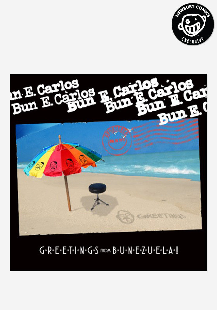 BUN E. CARLOS Greetings From Bunezuela! Exclusive LP