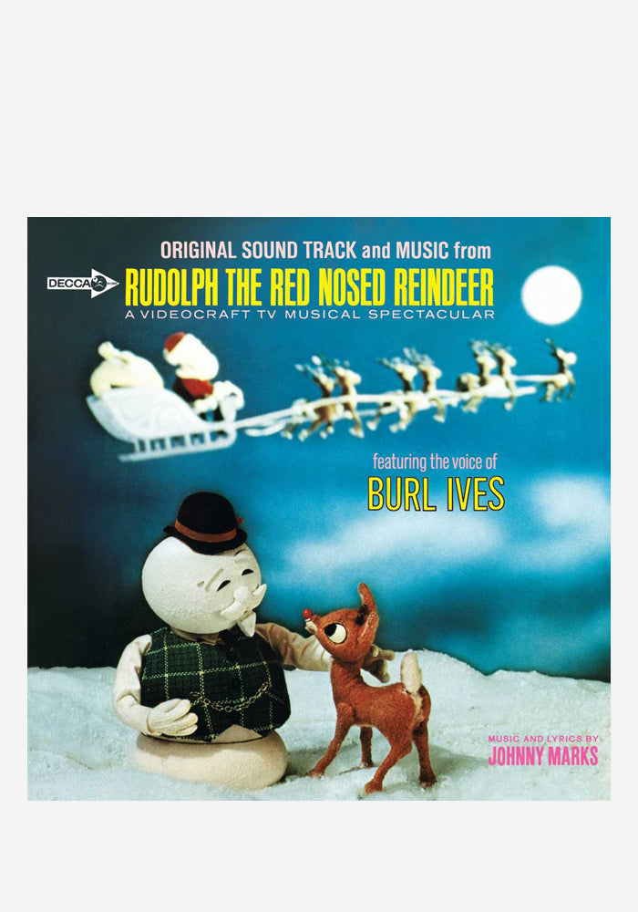 BURL IVES Soundtrack - Rudolph The Red-Nosed Reindeer