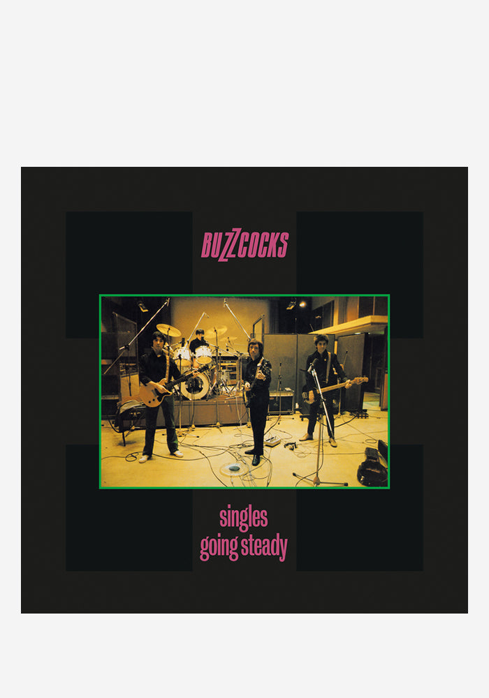 BUZZCOCKS Singles Going Steady LP (Color)