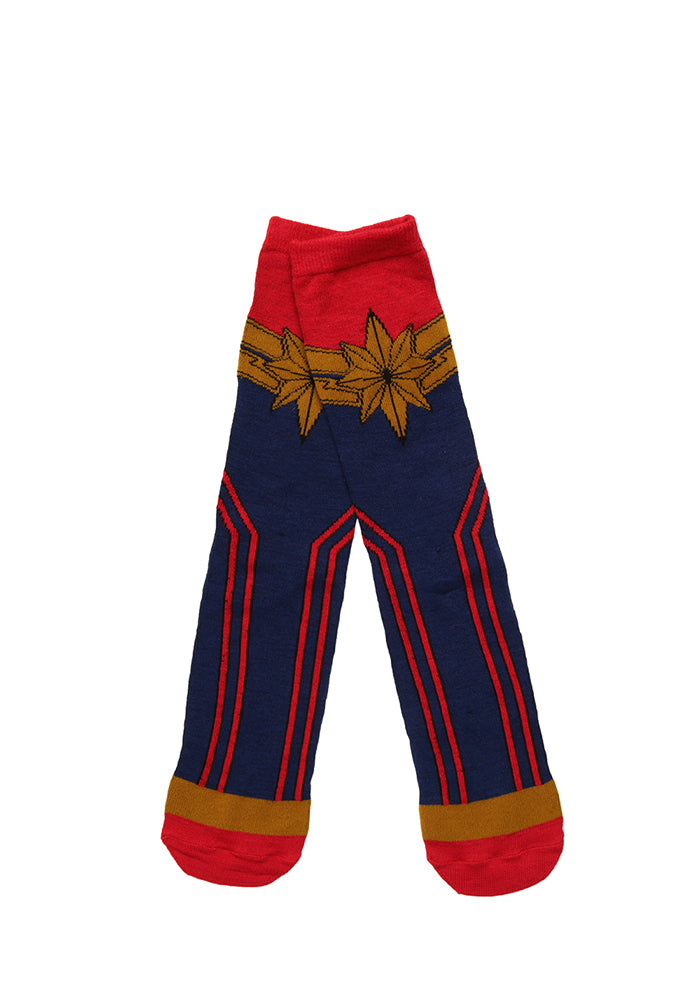 CAPTAIN MARVEL Captain Marvel Uniform Socks