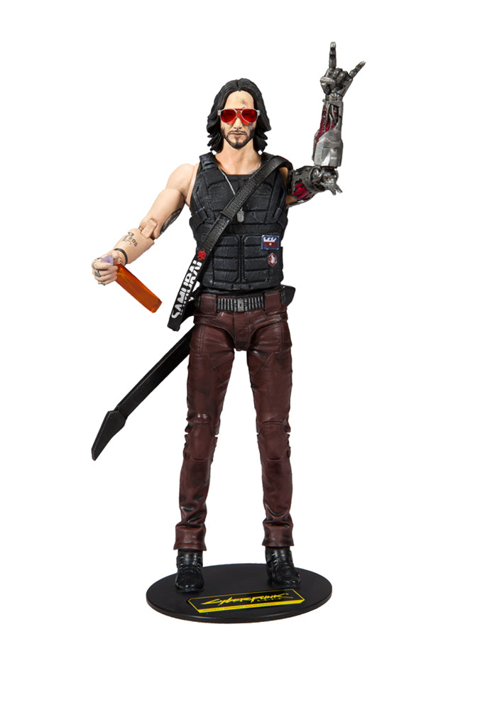CYBERPUNK 2077 Cyberpunk 2077 Video Game 7-Inch Action Figure - Johnny Silverhand