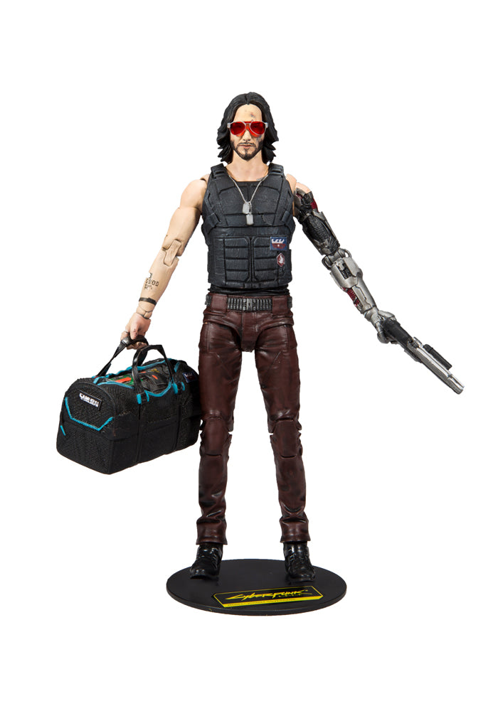 CYBERPUNK 2077 Cyberpunk 2077 Video Game 7-Inch Action Figure - Johnny Silverhand (Variant)