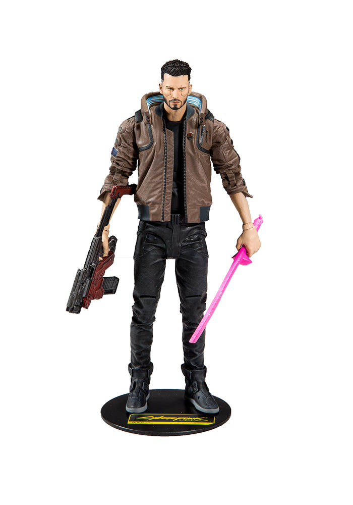 CYBERPUNK 2077 Cyberpunk 2077 Video Game 7-Inch Action Figure - V (Male)