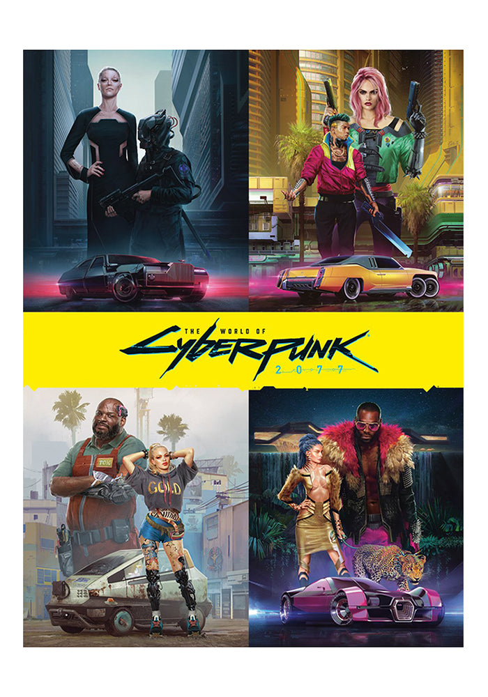 CYBERPUNK 2077 The World of Cyberpunk 2077 Hardcover
