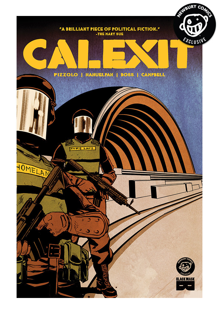 BLACK MASK COMICS CALEXIT Exclusive Variant Graphic Novel