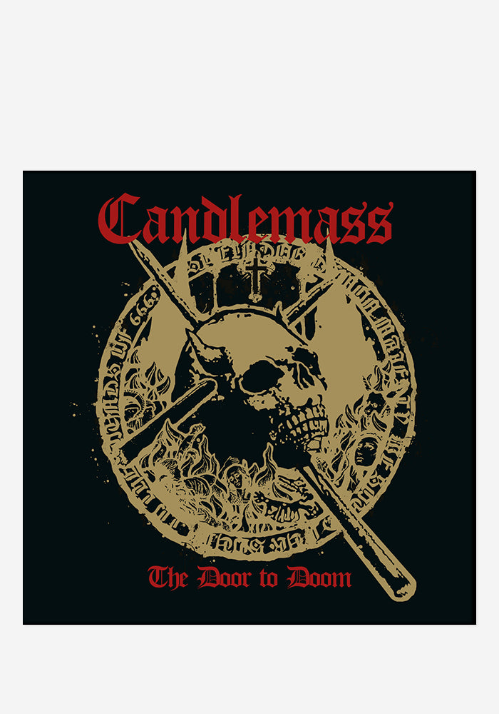 CANDLEMASS The Door To Doom CD With Autographed Booklet