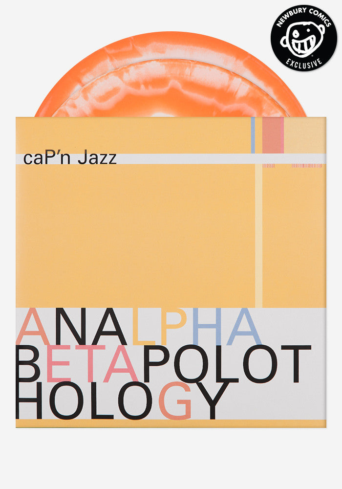 CAP'N JAZZ Analphabetapolothology Exclusive 2 LP