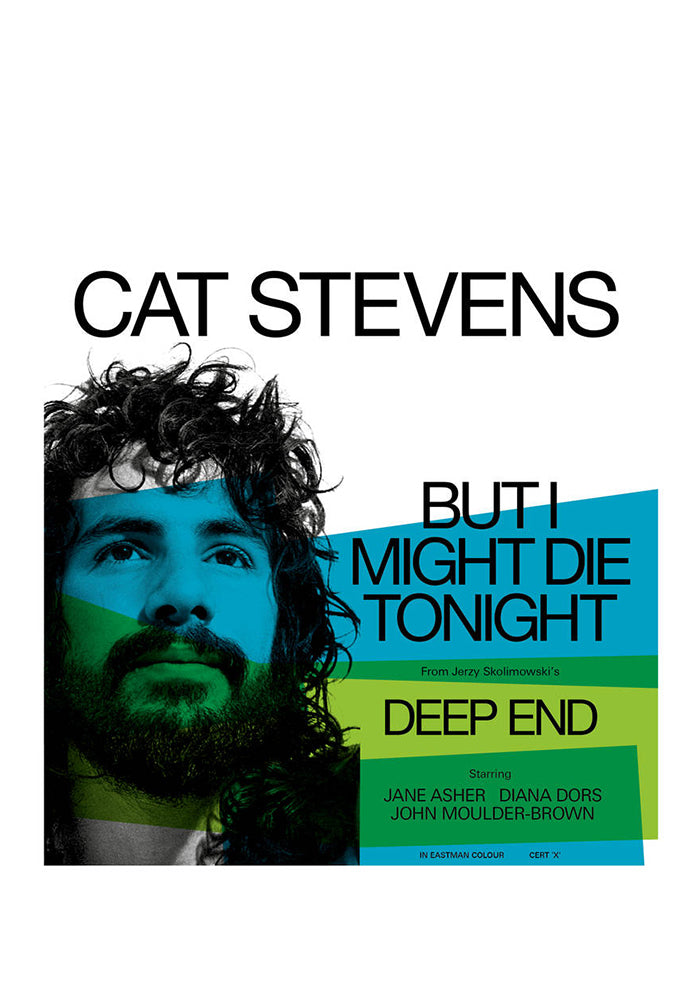"CAT STEVENS But I Might Die Tonight 7"" (Color)"