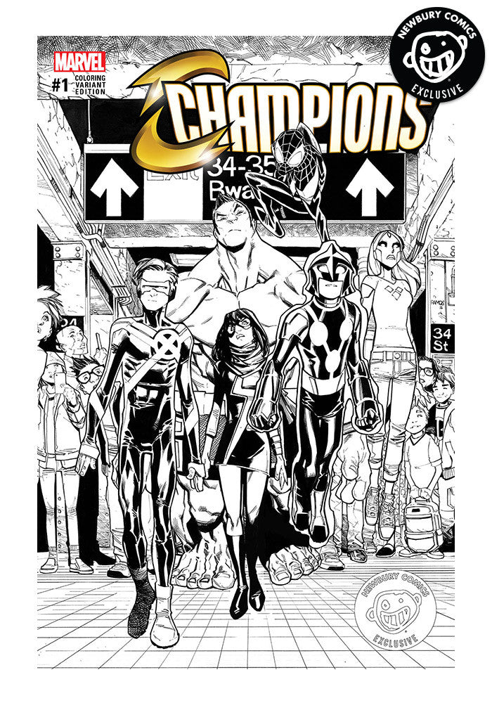 MARVEL COMICS Champions #1 Exclusive Variant Comic