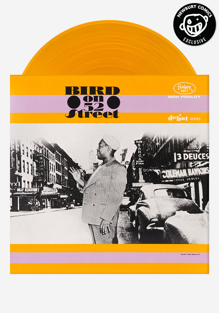 CHARLIE PARKER Bird On 52nd Street Exclusive LP