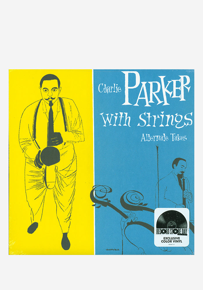 CHARLIE PARKER Charlie Parker With Strings: The Alternate Takes LP (Color)