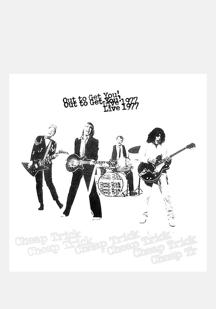 CHEAP TRICK Out To Get You! Live 1977 2LP