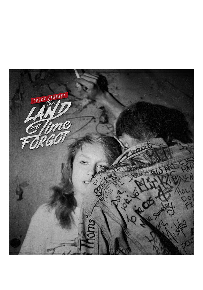 CHUCK PROPHET The Land That Time Forgot LP (Autographed)