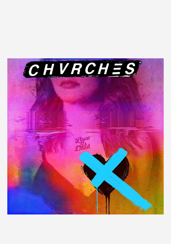 CHVRCHES Love Is Dead LP (Blue)