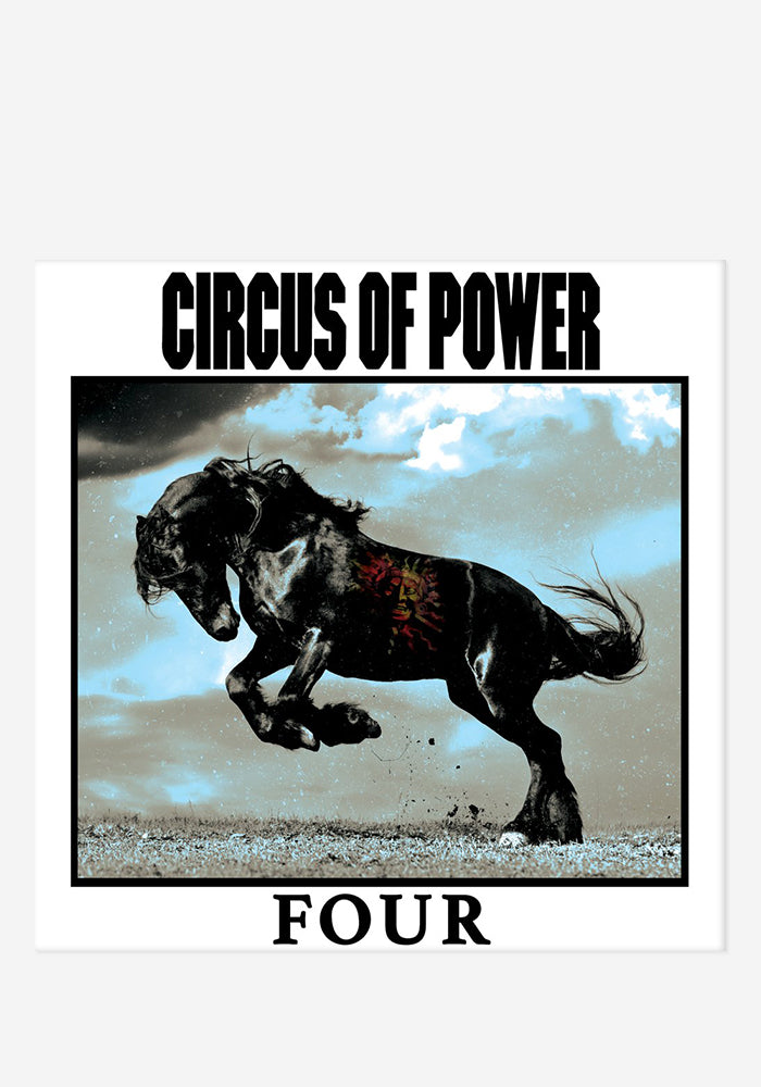 CIRCUS OF POWER Four CD With Autographed Art Card