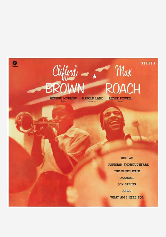 CLIFFORD BROWN & MAX ROACH Clifford Brown & Max Roach LP