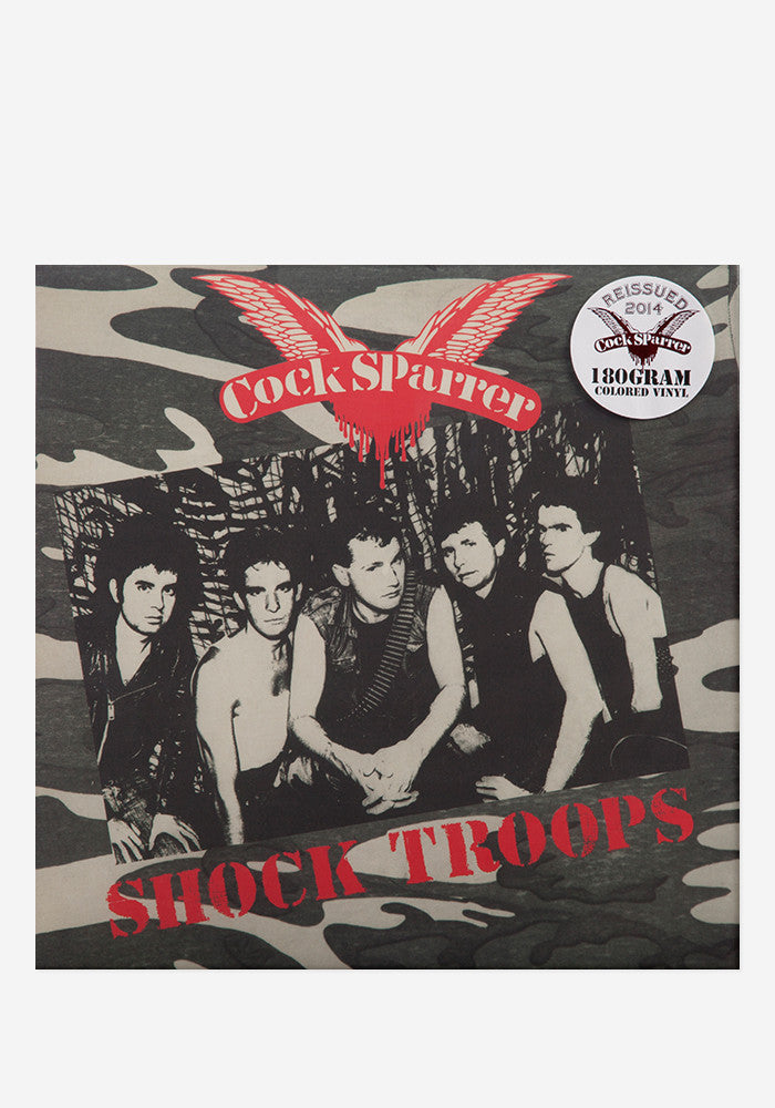 COCK SPARRER Shock Troops  LP