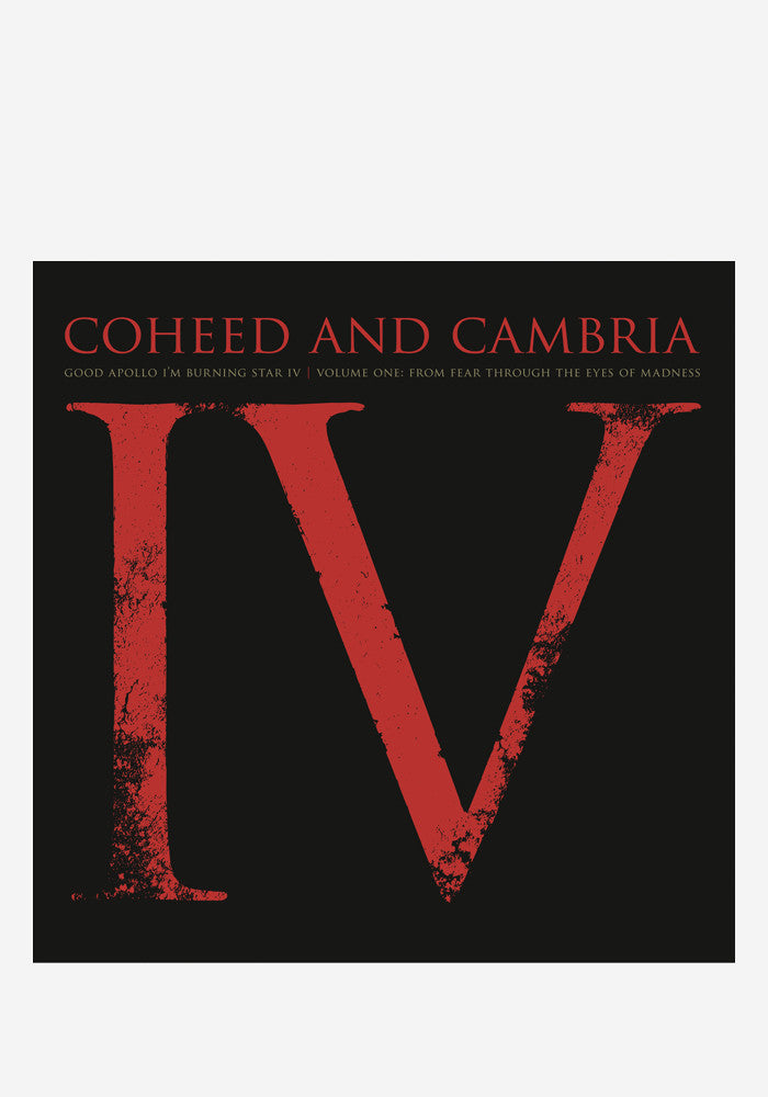 COHEED AND CAMBRIA Good Apollo I'm Burning Star IV Volume One: From Fear Through the Eyes of Madness 2 LP
